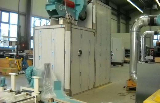 Das Bild zeigt eine neu hergestellte Thermofixierung